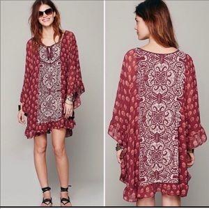 Free People Bohemian Dress Size S
